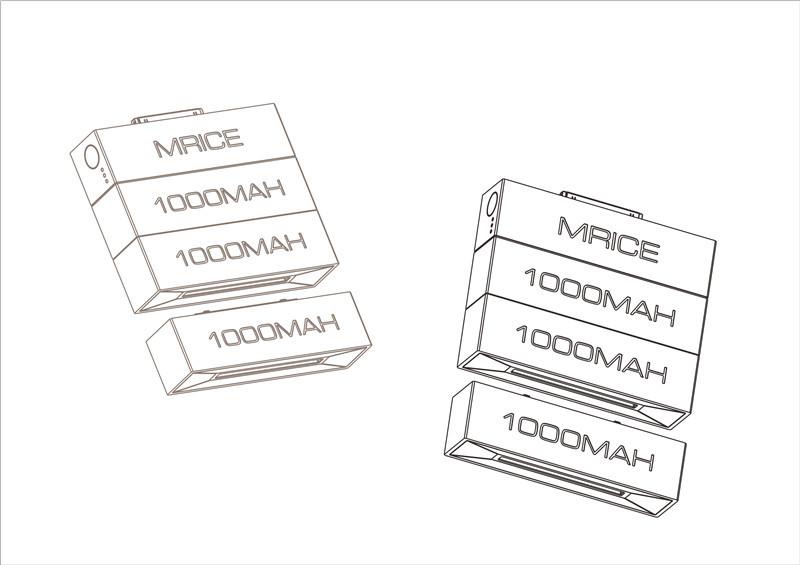 Promotional Gift Perfume 3000mah Power Bank,Mini Chocolate