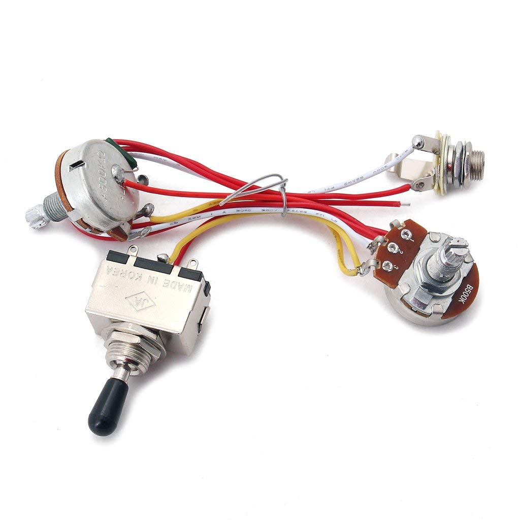 hight resolution of cheap guitar wiring parts find guitar wiring parts deals on line at 2v 2t 4500k pots 3way switch input jack wiring for gibson lp guitar