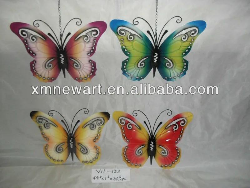 papillon en fer forge objet decoratif en metal pour decoration murale buy decoration murale en fer forge papillons decoratifs pour murs papillon en