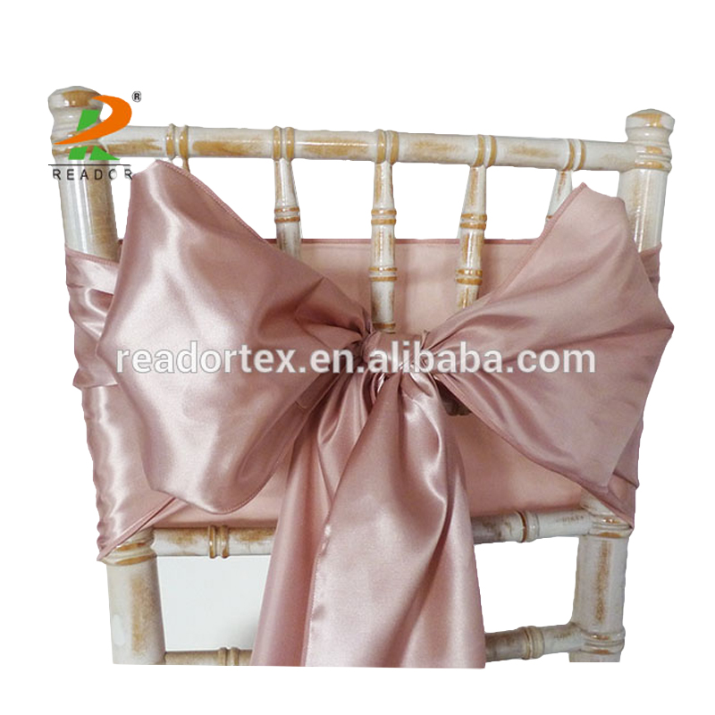rose gold satin chair sashes gym bands beautiful sexy sash buy inexpensive