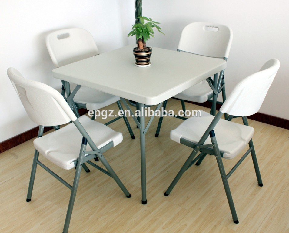 Cheap Plastic Folding Picnic Party Table and Chairs in