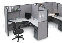 Design Layout Open Modern Office Workstation In Different