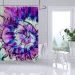 Buy Hippie Shower Curtain Fashion Tie Dye Rainbow Spirals