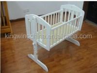 Wooden Bedside Crib/baby Cradle/swing Baby Crib - Buy ...