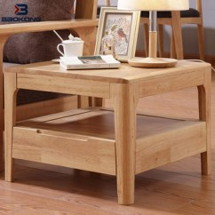 Wood Side Tables Living Room Pictures Of Wall Units Sofa Wooden Table Modern Corner Design