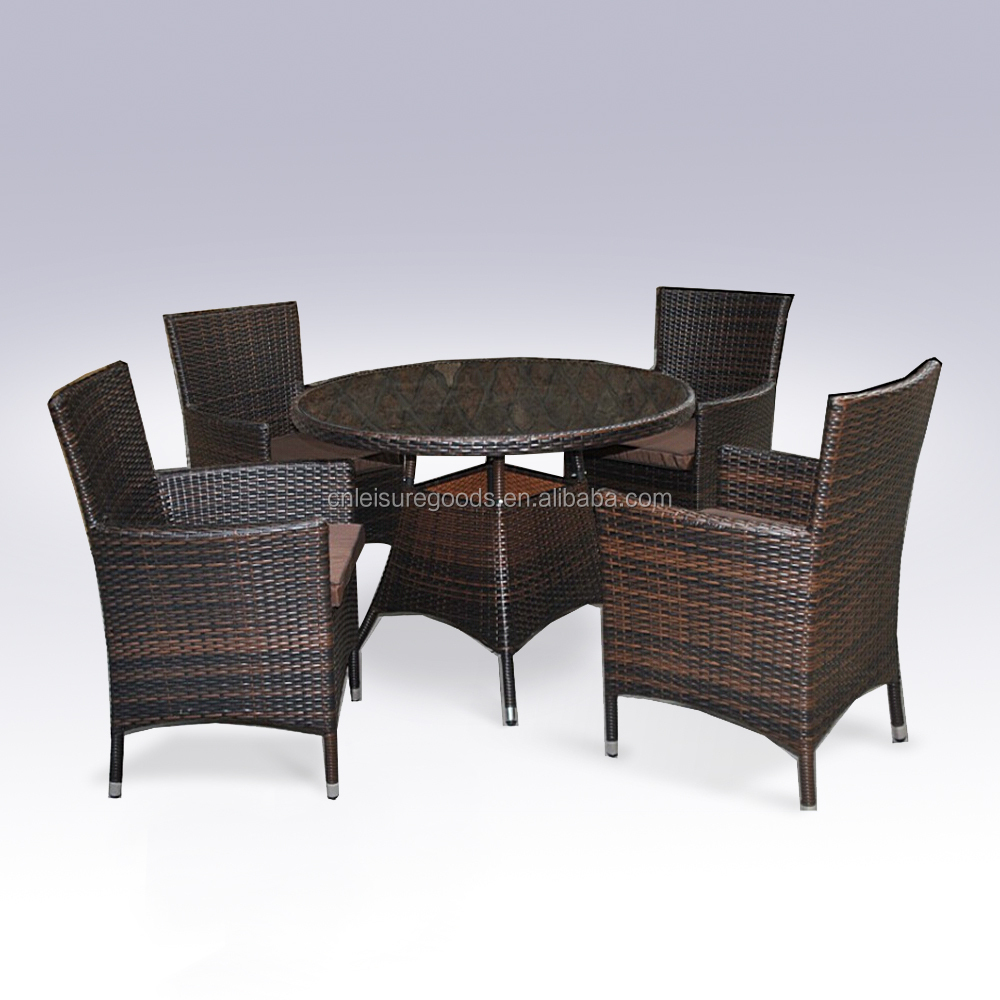 Patio Synthetic Rattan Dining Table And Chair  Buy Dining