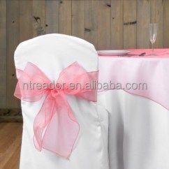 Buy Chair Covers And Sashes Pottery Barn Anywhere Sizes Wholesale Crystal Organza Bows Various Color For Wedding Cover
