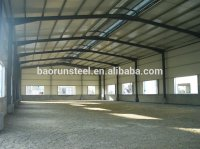 Curved Roof Design Structural Steel Shed Warehouse ...