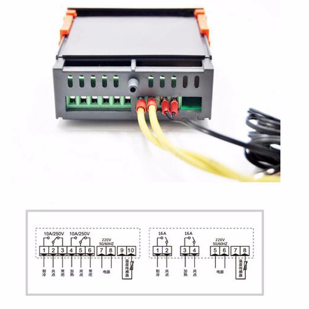 hight resolution of ringder rc 316m 230v16a c cool heat auto switch 2016 new stc 1000