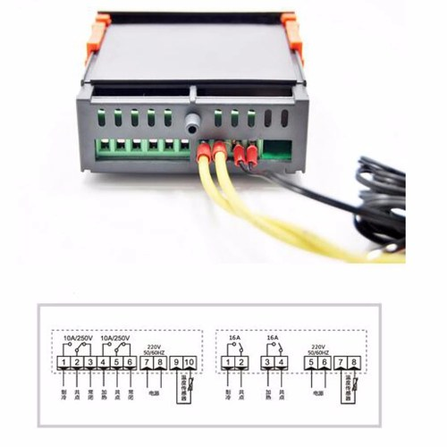small resolution of ringder rc 316m 230v16a c cool heat auto switch 2016 new stc 1000