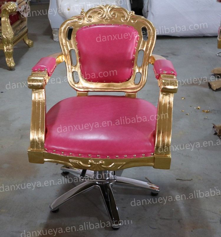 pink salon styling chair cover and sash hire liverpool danxueya baroque chairs sales cheap antique styled