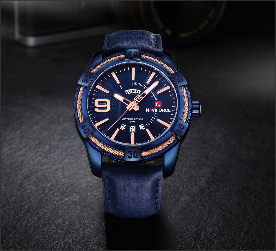 HTB14vH2gmfD8KJjSszhq6zIJFXaF NAVIFORCE Top Luxury Brand Men Quartz Watch Army Military Sport Business Watches Week Analog Display Male Clock Waterproof Hour