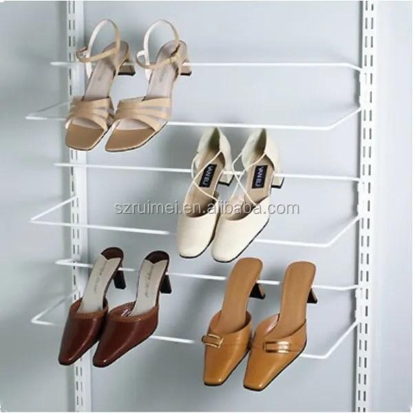 slatwall multilayer metal wire wall high heels shoe rack buy high heels shoe rack wall mounted high heels shoe rack wall shoe rack product on