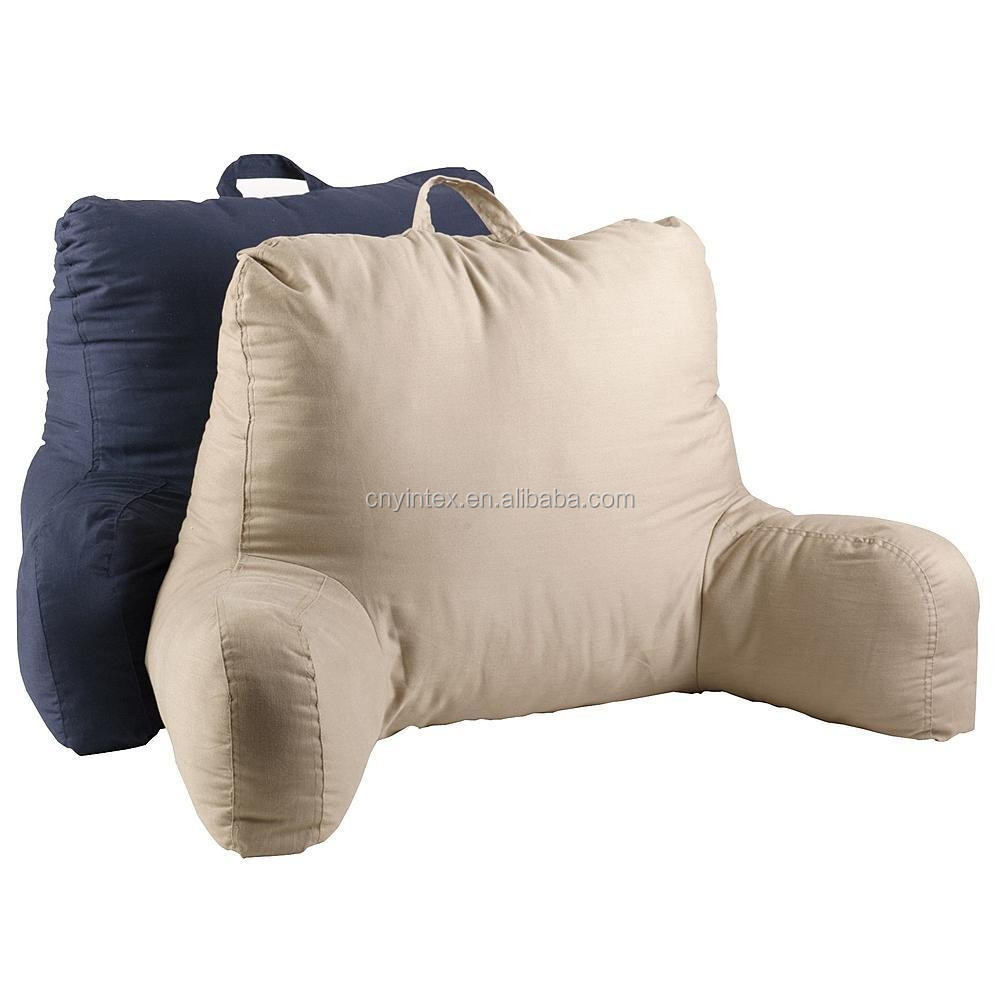 Reading Bed Pillow With Arms Chair Sit Up Boyfriend