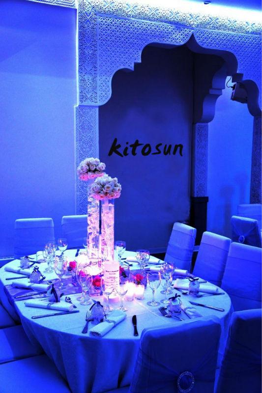 Crystal Wedding Columns For Wedding Decoration Mirror