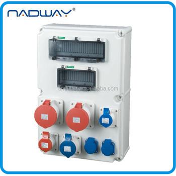 Cee/iec Plastic Industrial Electrical Waterproof Mcb