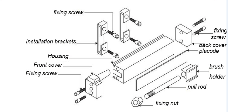 Small Volume Motion Sensor For Injection Molding Machine