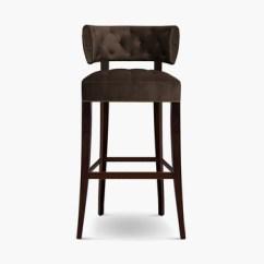 Stool Chair In Chinese Office Eames Zulu Bar American Retro High Furniture Restaurant