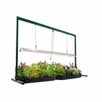 4ft Grow Light Stand Edl T5 54w Fluorescent Indoor Plant