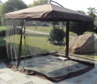 Outdoor Patio Umbrella Rome Umbrella With Mesh - Buy Patio ...