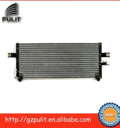 auto air conditioning condenser and auto ac condenser for sentra sunny b14 ac condenser for car [ 1000 x 1000 Pixel ]