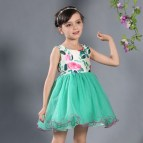 Baby Girl Cotton Dress Skin Protect Summer