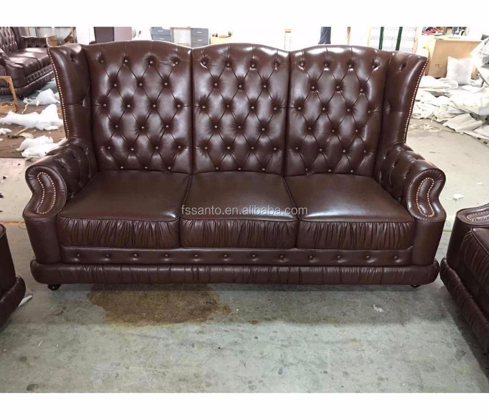 high back chesterfield sofa roche bobois long island preis 1 2 3 seater buy genuine leather set