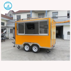 Kitchen Trailer Aid Store 2017 New Style Coffee Trucks Mobile Fast Food Truck For Sale India