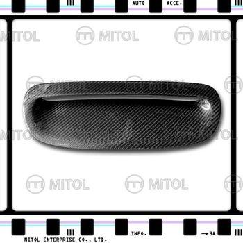 Carbon Fiber Hood Vent Cover For Mini Cooper R53 01-06