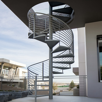 Outdoor Used Spiral Staircase Price Modern Prefabricated Spiral | Outdoor Spiral Staircase Prices | Dipped Galvanized | Stair Treads | Furniture Ideas | Deck | Treads