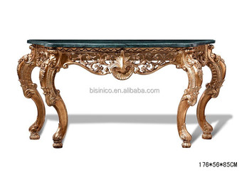 sofa console tables wood sets cheap online french style vintage luxury hand carved table hall foyer wooden furniture