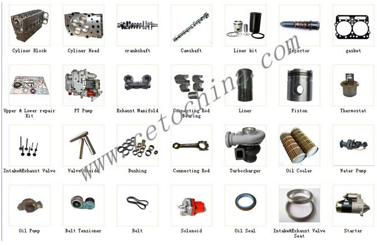 Good Quality Cummins Qsx15 Engine Parts Diesel Piston