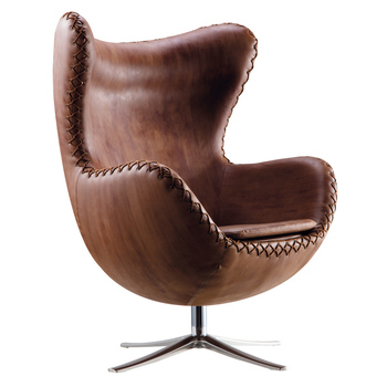 egg chair cover for sale beadboard with rail vintage style armchair leather buy
