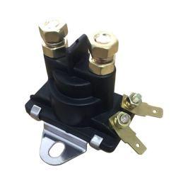 enjocho solenoid valve marine starter tilt trim relay solenoid mercruiser 89 96158t 12v for [ 1026 x 1026 Pixel ]