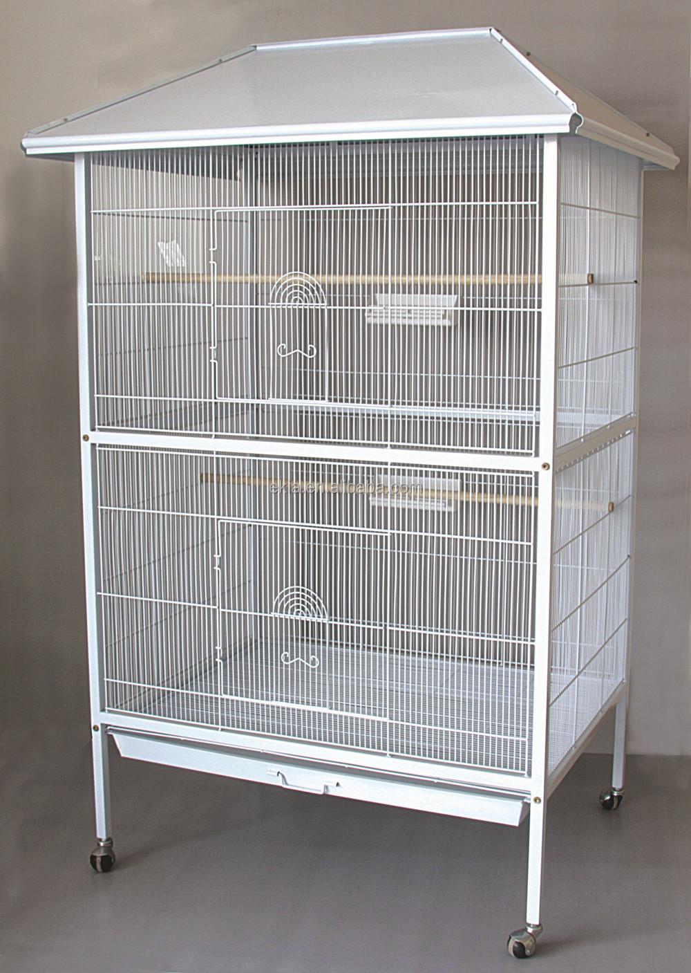 Byk Beyaz Papaan Kafesi Parakeet Ev Ku Kafesi  Buy