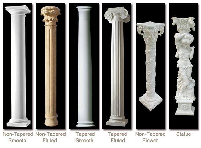 Large Porch Columns