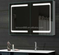 High-end Usa Style Bathroom Mirrored Medicine Cabinets ...