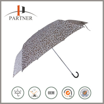 2016 New Umbrella Invention Leopard Printing Trump