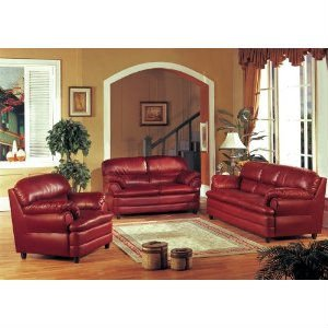 burgundy leather sofa and loveseat tan gray rug chair living room set buy