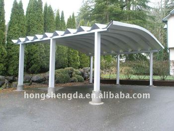 Prefabricated Aluminum Car Shedcanopycarport  Buy Aluminum Car CanopySteel Parking Canopy