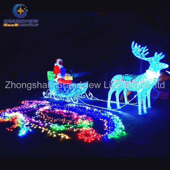 Outdoor Decor Resin Fox Statue Solar Lights Led Lantern Decoration Animals Garden Statues