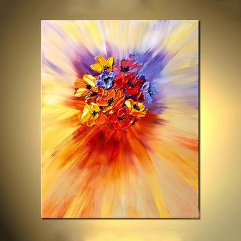texture modern abstract flower