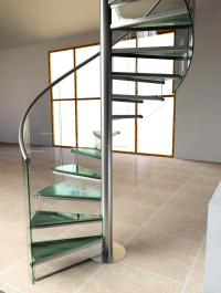 Contemporary Design Wrought Stainless Steel Spiral ...