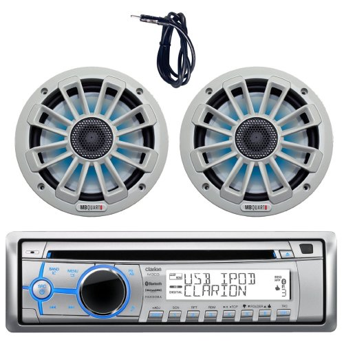 small resolution of get quotations new clarion m303 marine boat yacht cd usb mp3 bluetooth stereo am fm