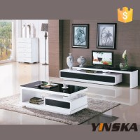 Chinese Living Room Furniture Cheap Black Lacquer Glass Tv ...