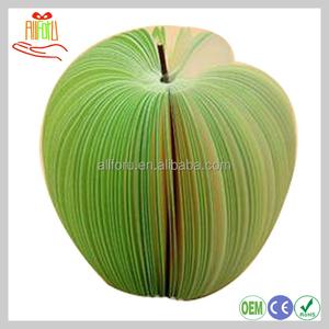 china apple paper notepad