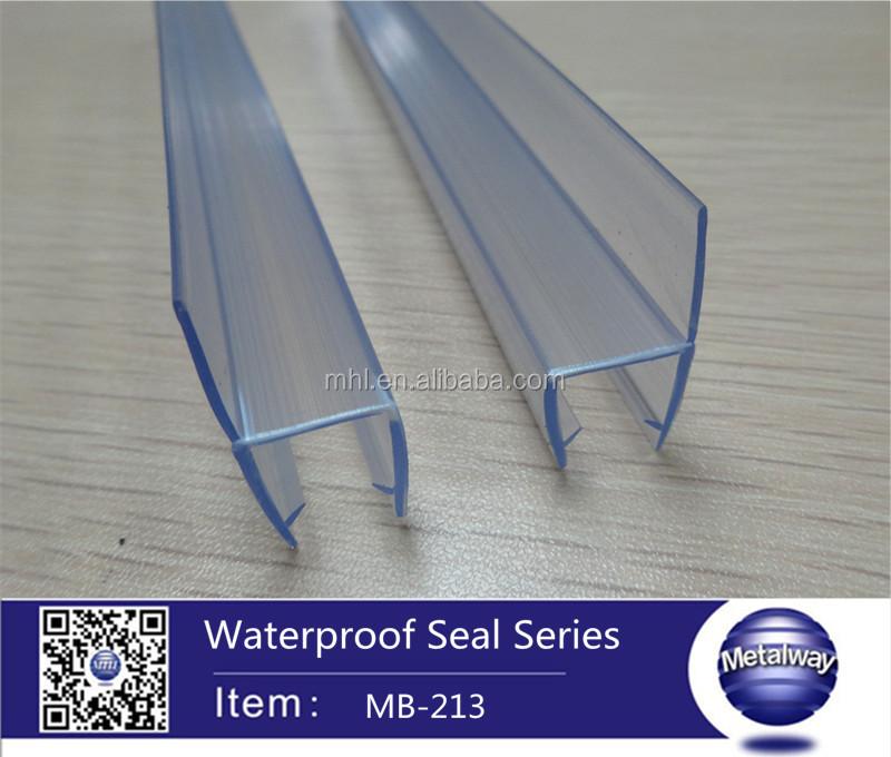Glass Shower Door Seal Sliding Glass Door Edge Strip Types