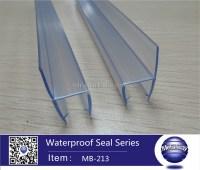 Glass Shower Door Seal Sliding Glass Door Edge Strip Types ...