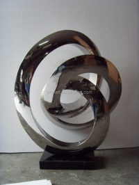 Abstract Stainless Steel Garden Sculpture For Sale Metal ...