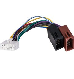 get quotations clarion 16pin stereo radio iso wiring wire harness skcl16 21 iso car audio parts [ 1200 x 1200 Pixel ]